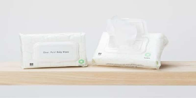 Use baby wipes for carpet cleaning